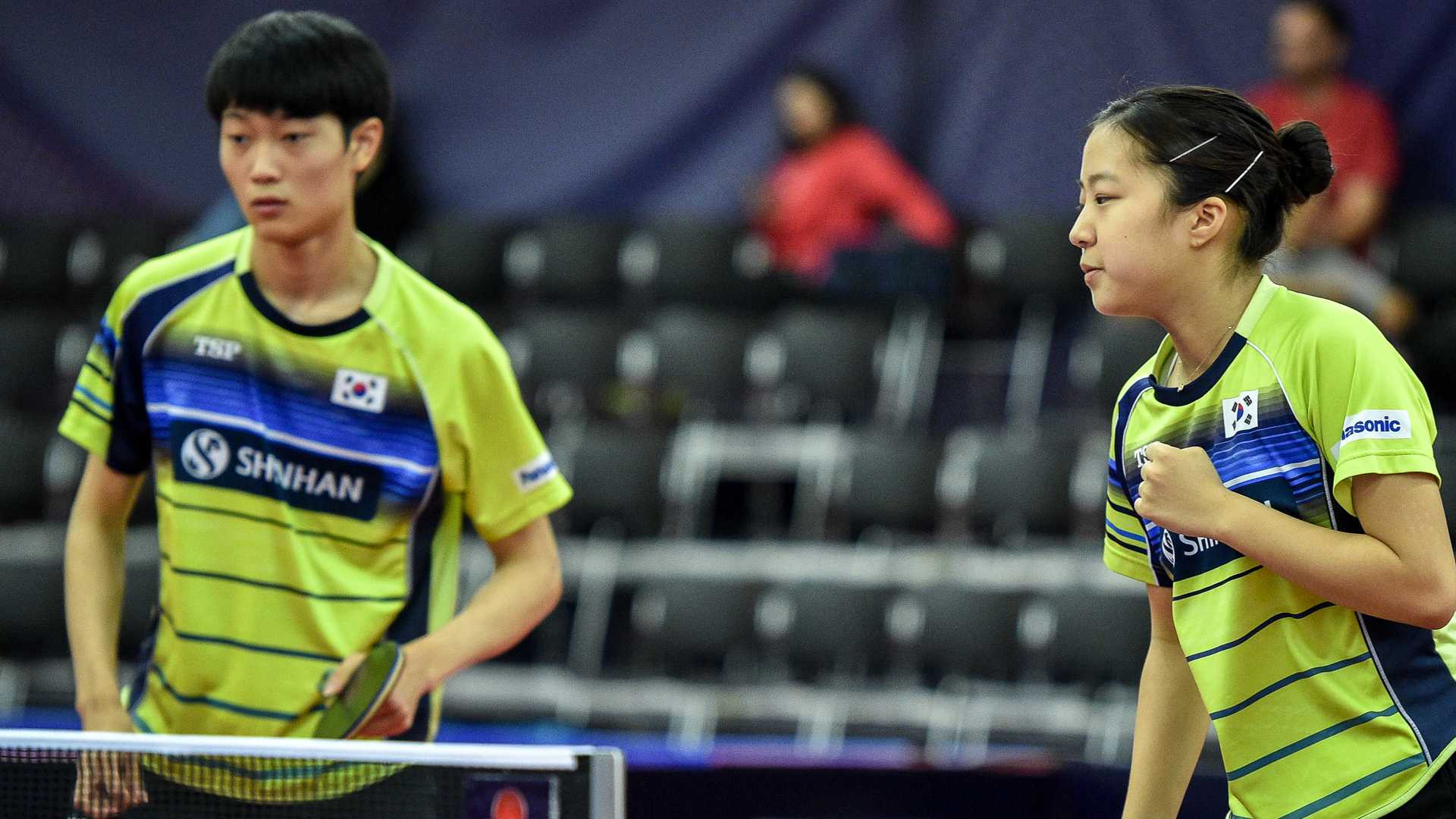 South Korean qualifiers win mixed doubles title at ITTF Czech Open