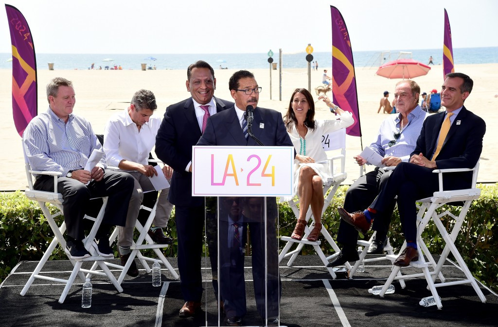 Rising costs have cast doubts on LA 2024's proposed Olympic Village site ©Getty Images