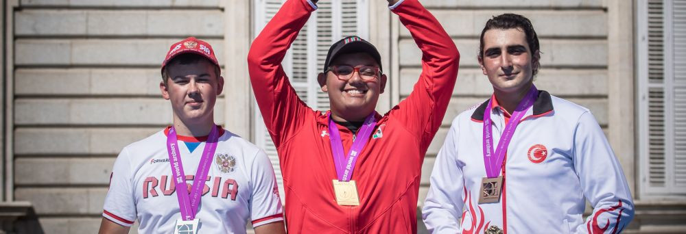 Garcia claims historic gold for Mexico at World Archery Youth Championships