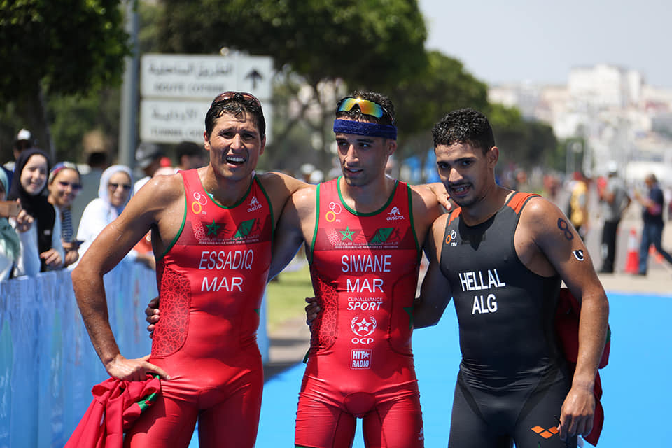 Siwane and ElSalamoney secure African Games triathlon titles