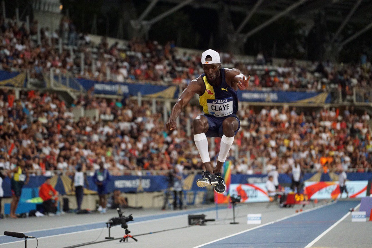 Feat of Claye highlights Paris Diamond League meeting as Lyles speeds to 200m win
