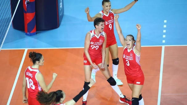 Turkey survive scare to beat Finland at Women's European Volleyball Championship