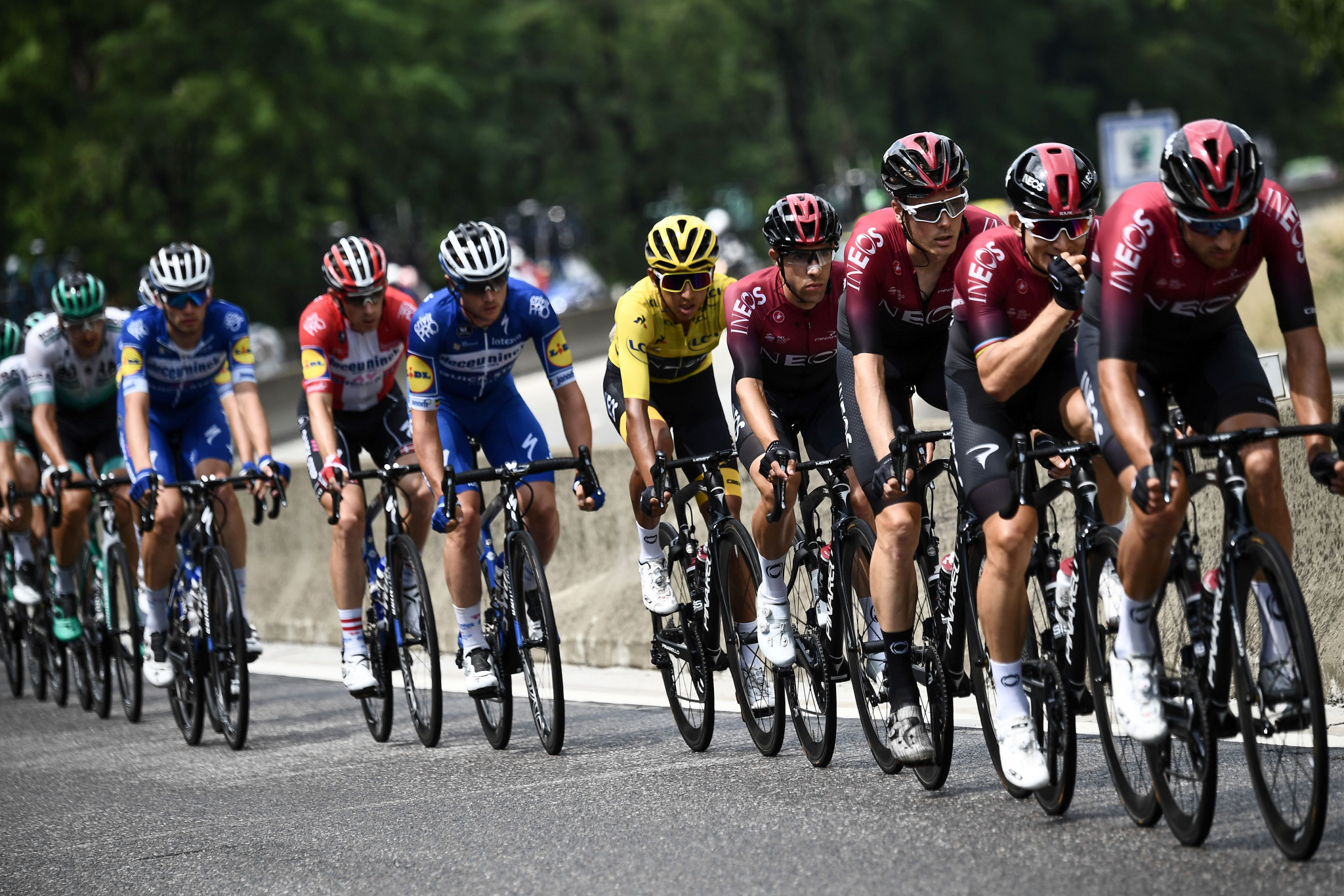 The road cycling survey revealed fears of team domination ©Getty Images