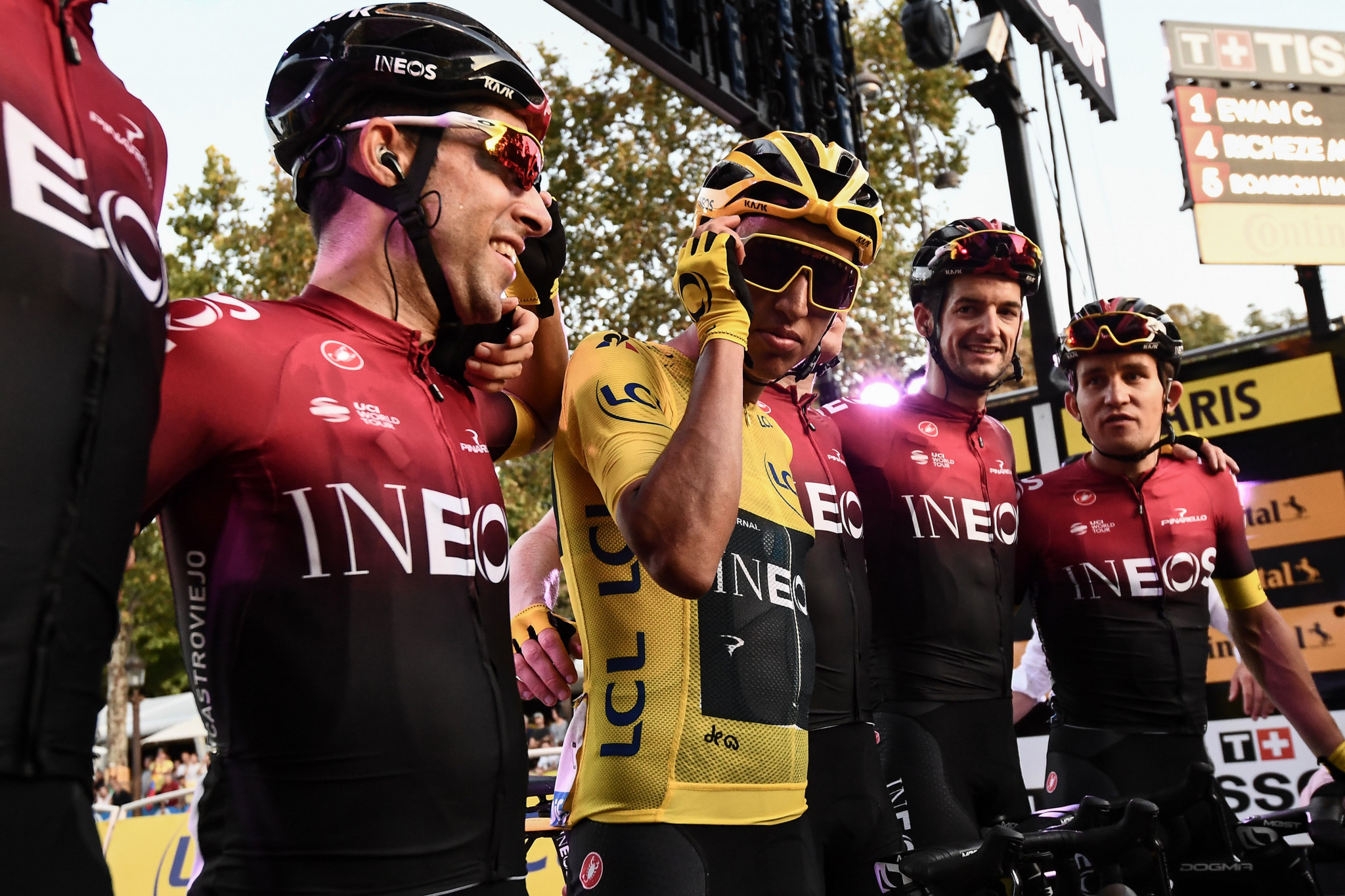 Team Ineos, formerly Team Sky, have won the Tour de France for the last five years ©Getty Images