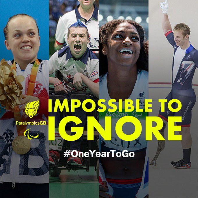 "ParalympicsGB launch ""Impossible to Ignore"" campaign with one year to go until Tokyo 2020"