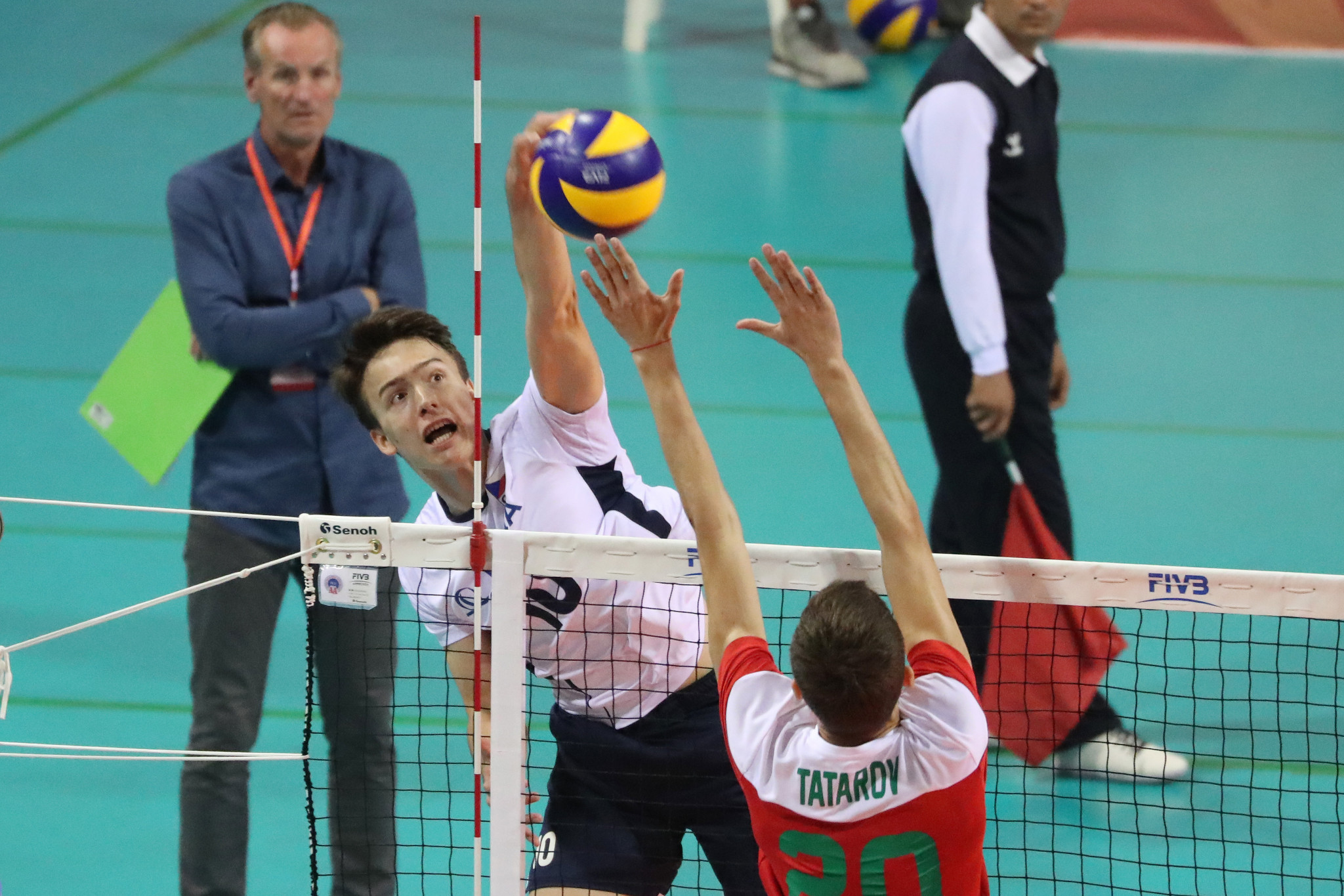 Czech Republic defeated Bulgaria to go top of Pool B in Tunis ©FIVB