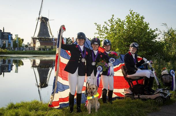 Britain finished second behind The Netherlands in Rotterdam ©FEI