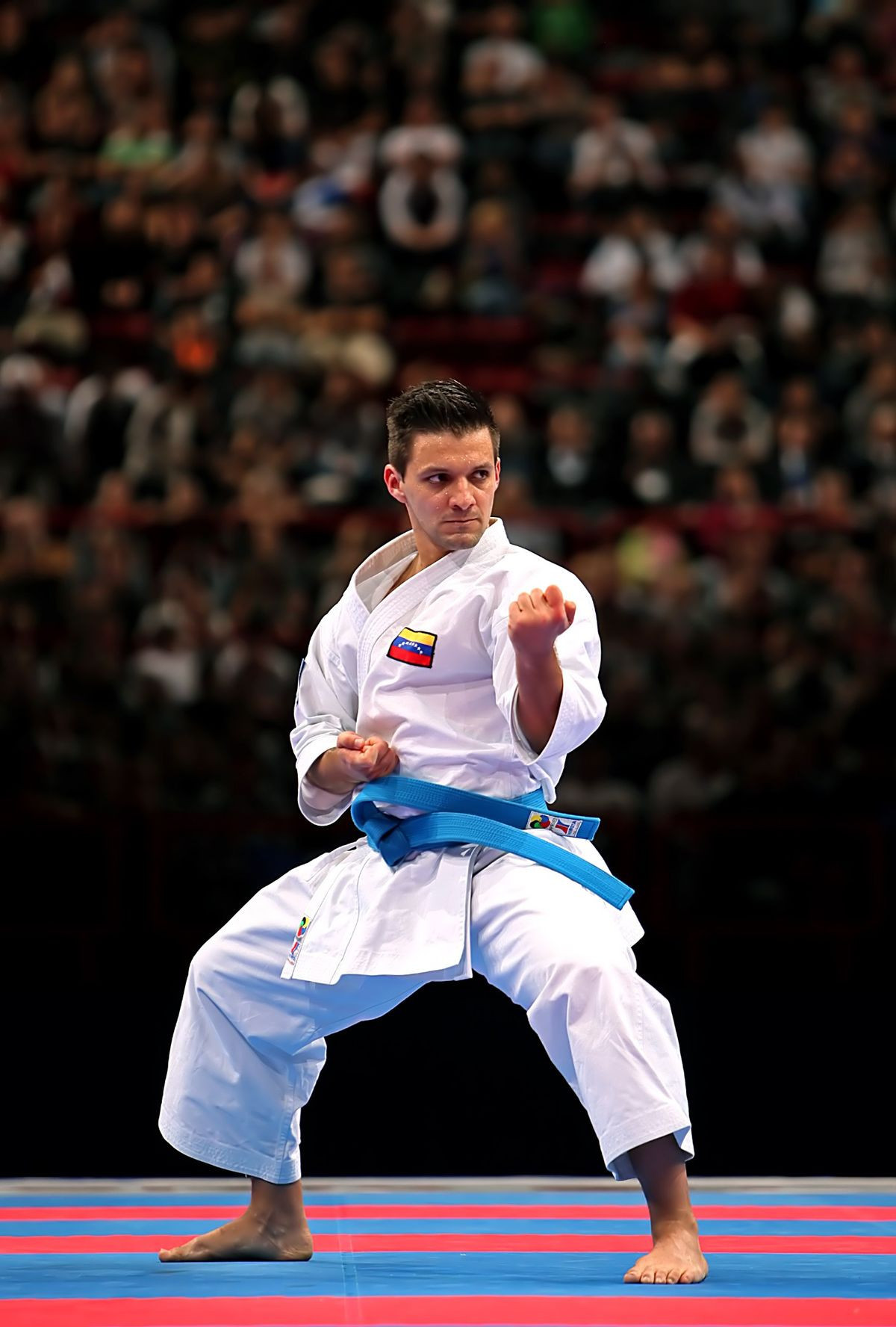 Venezuela's Antonio Diaz will compete in the men's kata at the ANOC World Beach Games ©Wikipedia