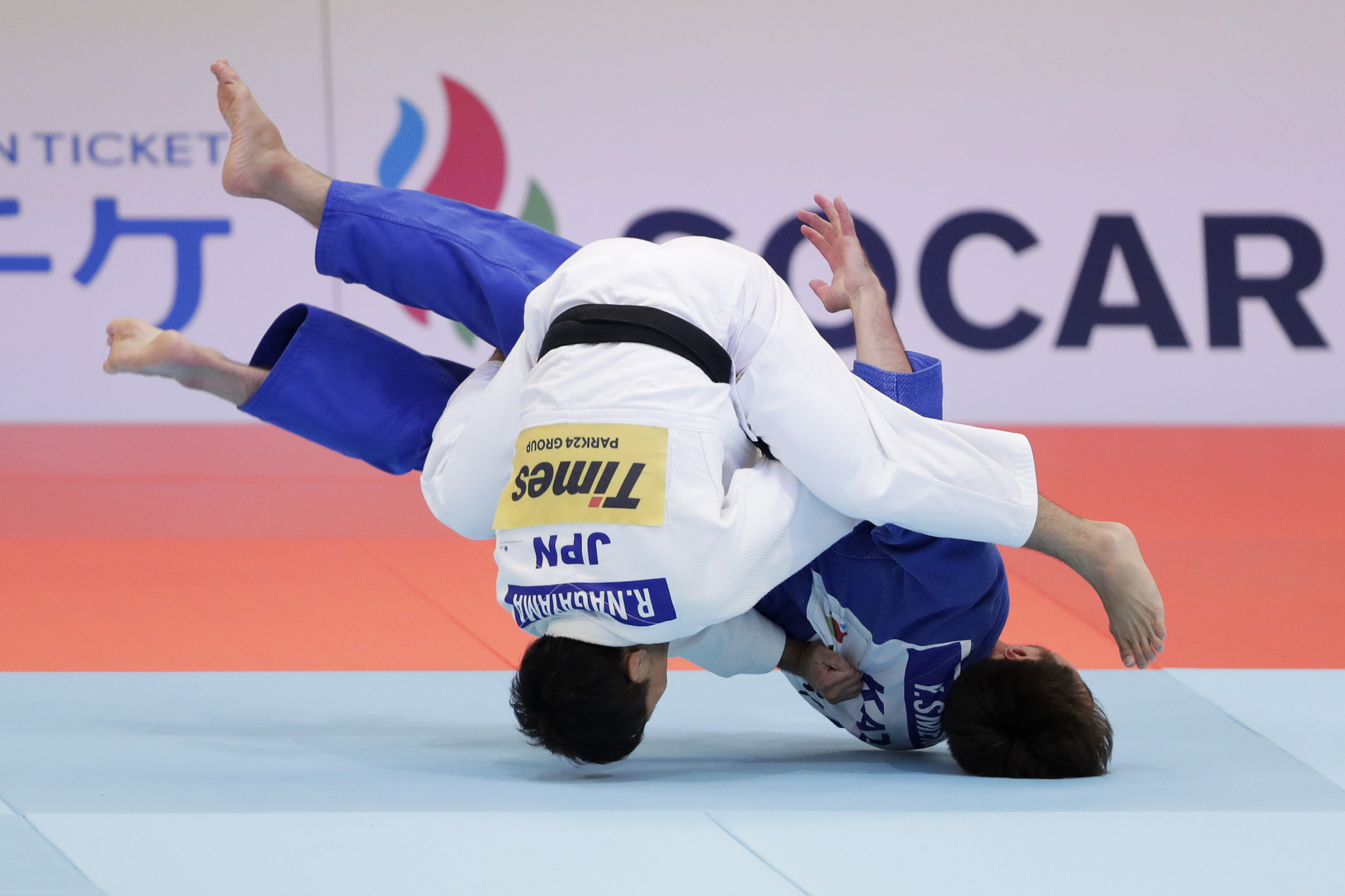 Men's under-60 kilogram fourth seed Ryuju Nagayama, meanwhile, earned Japan a bronze medal ©Getty Images