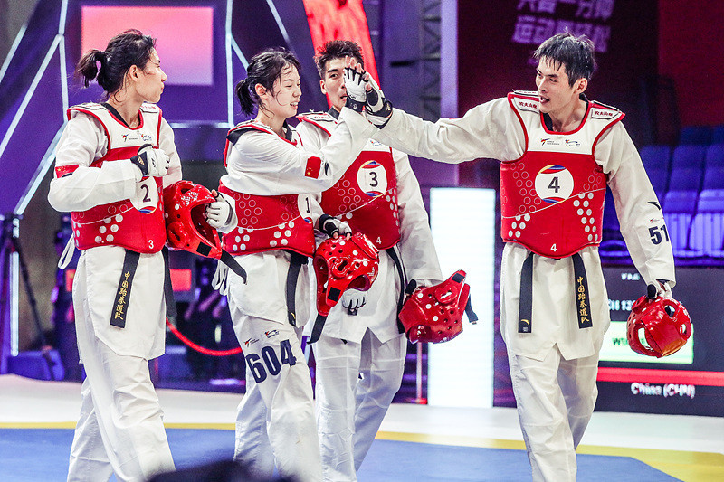 Chinese claim final gold at World Taekwondo World Cup Team Championships