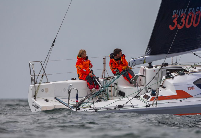 World Sailing has released a video to promote the new mixed two person offshore keelboat event which will debut at the Paris 2024 Olympic Games ©World Sailing