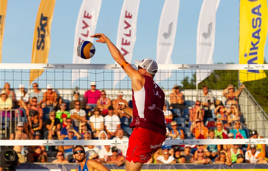 Samoilovs and Šmēdiņš claim FIVB Beach World Tour title in Jūrmala