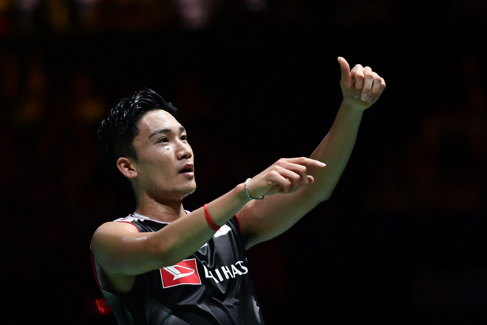 Kento Momota retained his men's singles world title ©Getty Images