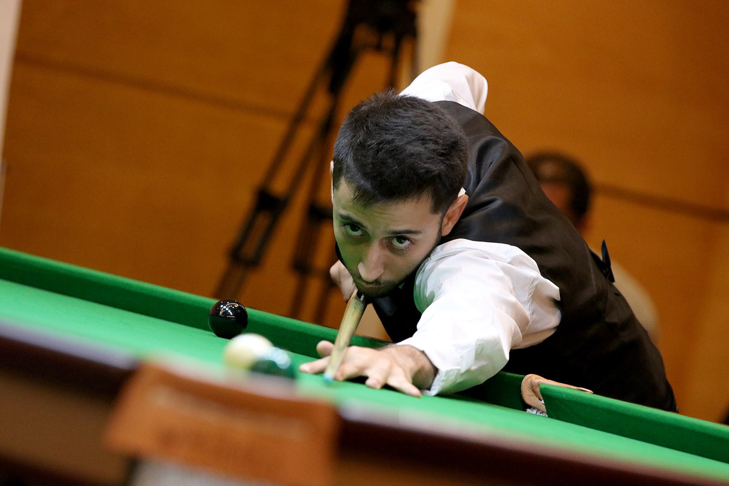 Snooker made its debut as a medal event at the African Games ©WPBSA