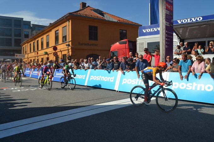 Vos wins stage four of Ladies Tour of Norway to earn overall title