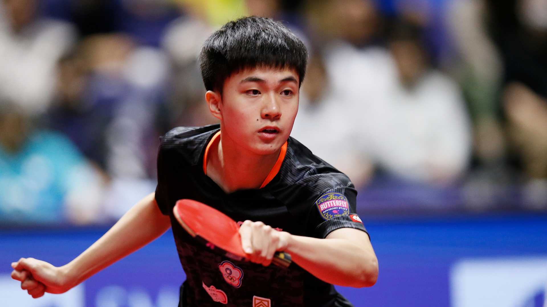 Lin Yun-ju of Chinese Taipei was the victor in the men's singles final at the ITTF Czech Open ©ITTF