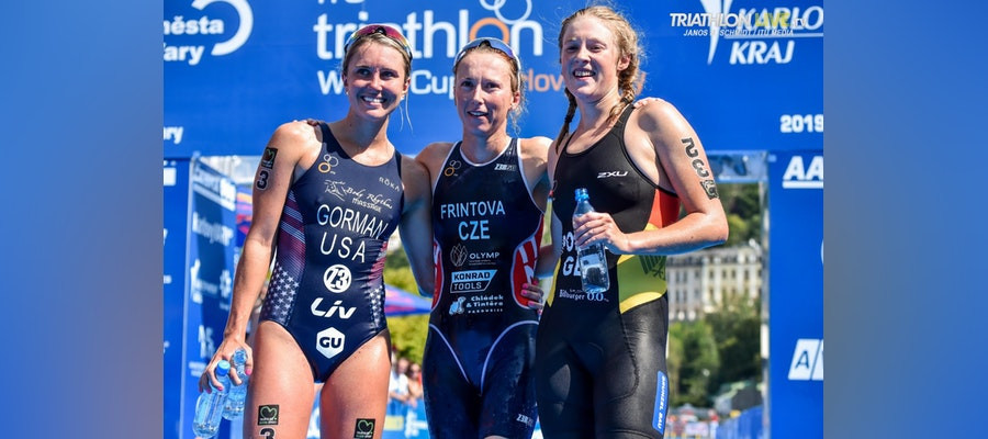 Frintová defends ITU World Cup title in Karlovy Vary