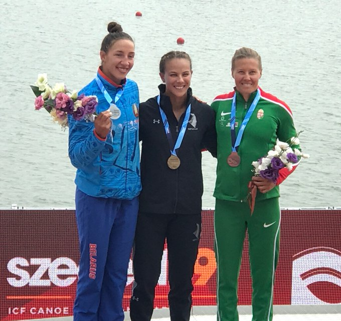Carrington clinches second gold as ICF Canoe Sprint World Championships conclude