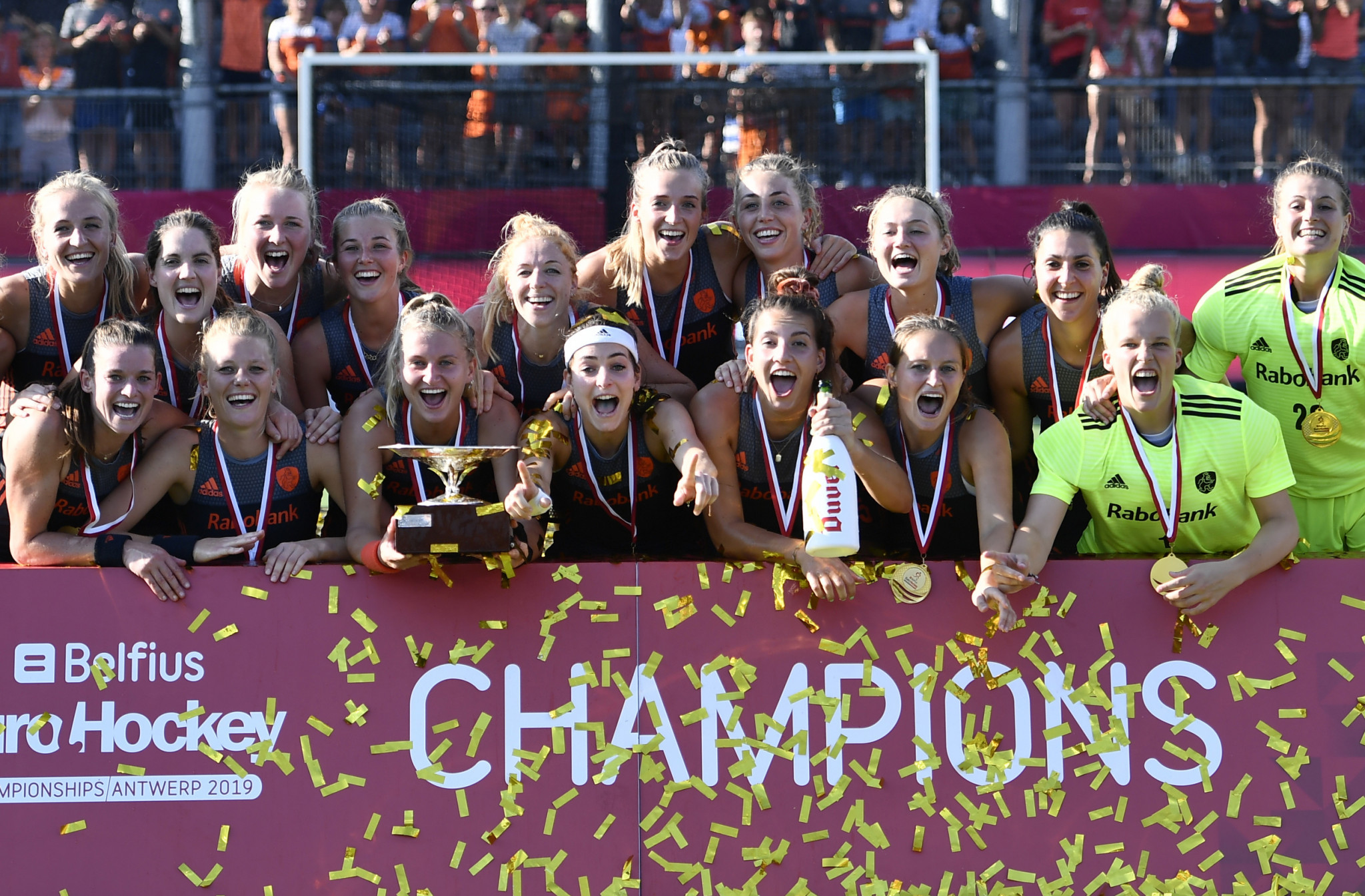 The Netherlands won the Women's EuroHockey Nations Championship ©Getty Images