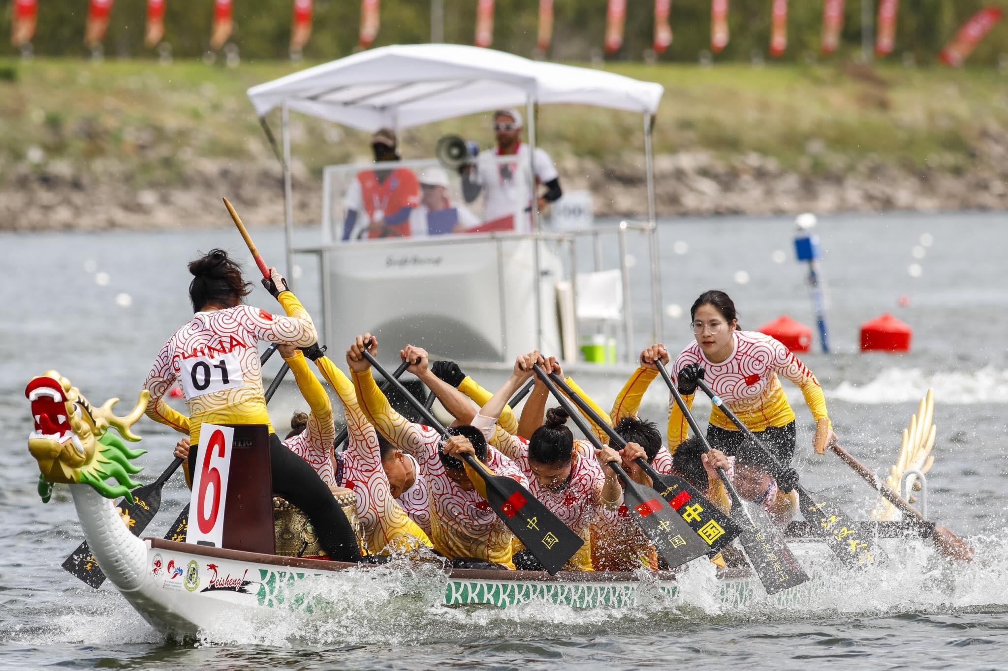 China break world record on last day of World Dragon Boat Racing Championships