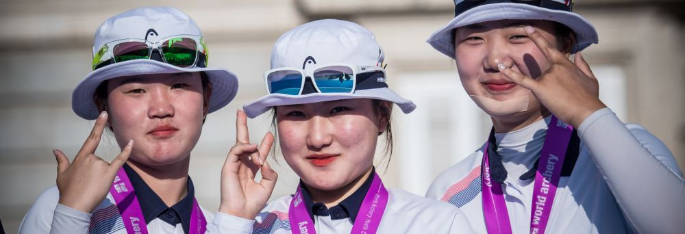 South Korea win three cadet team titles on final day of World Archery Youth Championships
