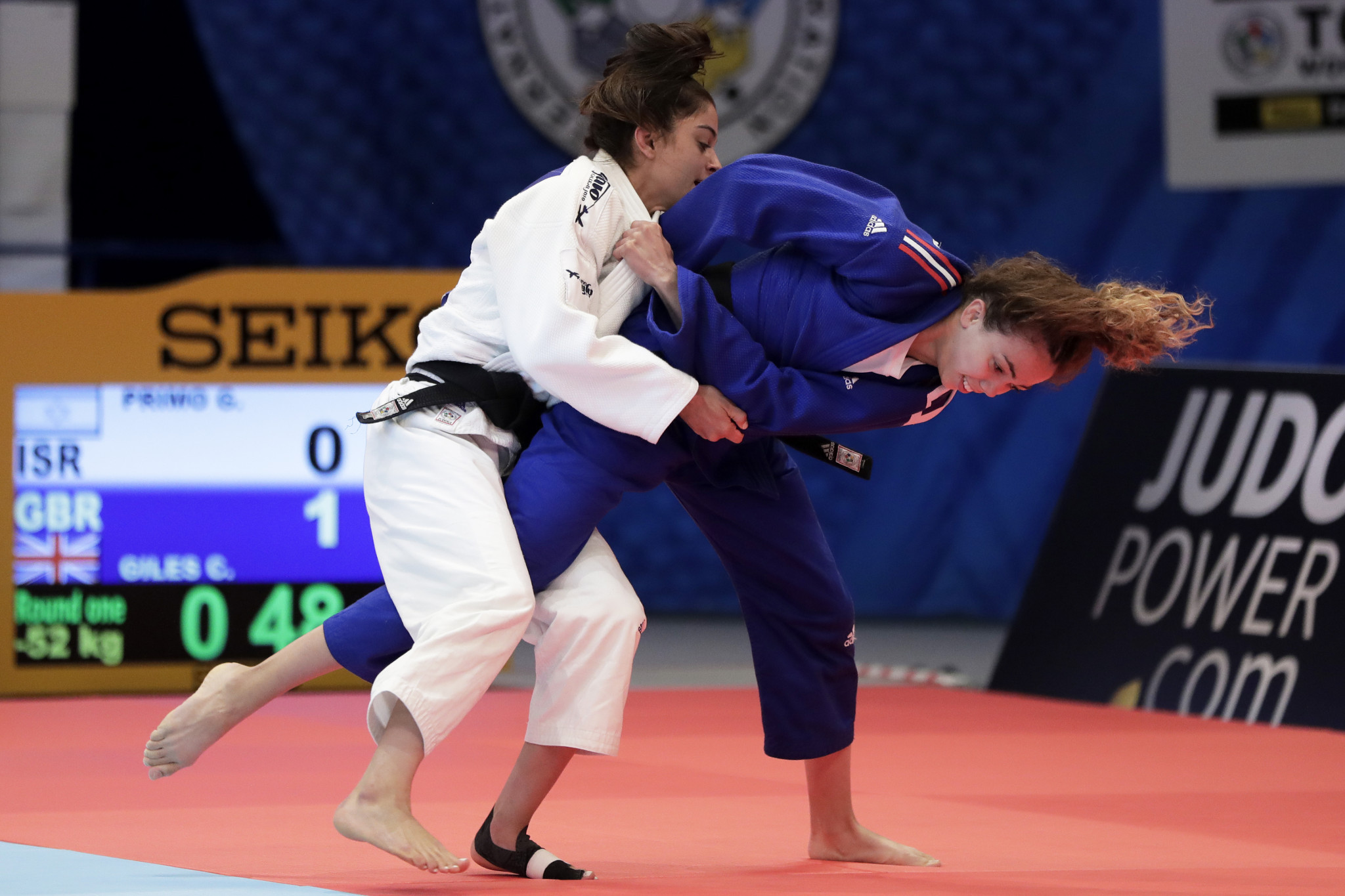 IJF World Championships: Day two of competition