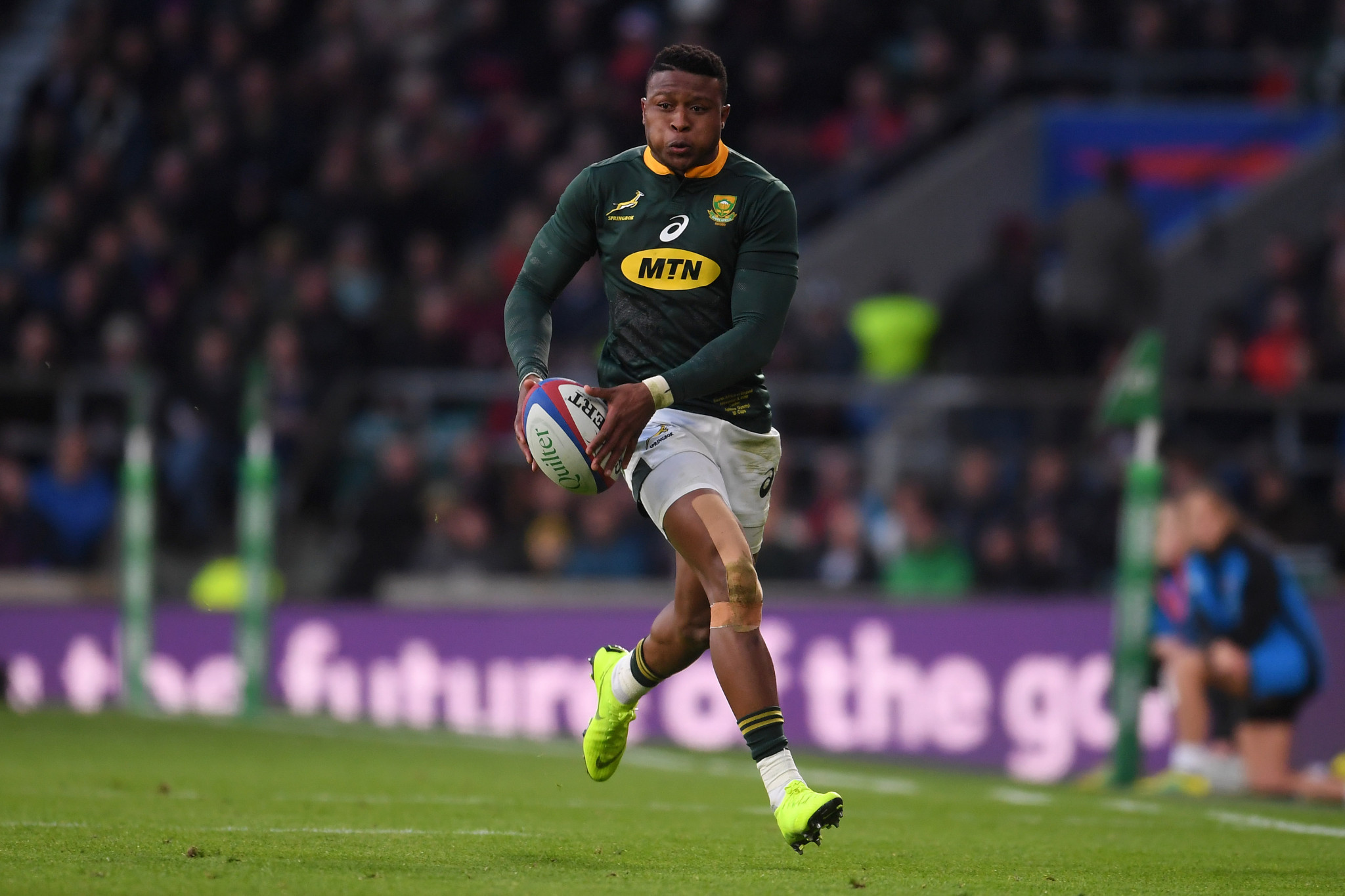 South African rugby ace Dyantyi faces ban after failing drugs test