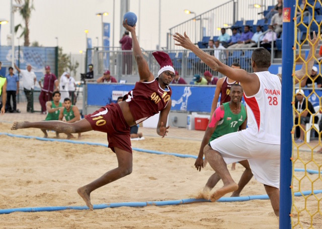 "Qatar's athletes have begun ""intensive"" preparations for their home World Beach Games ©QOC"