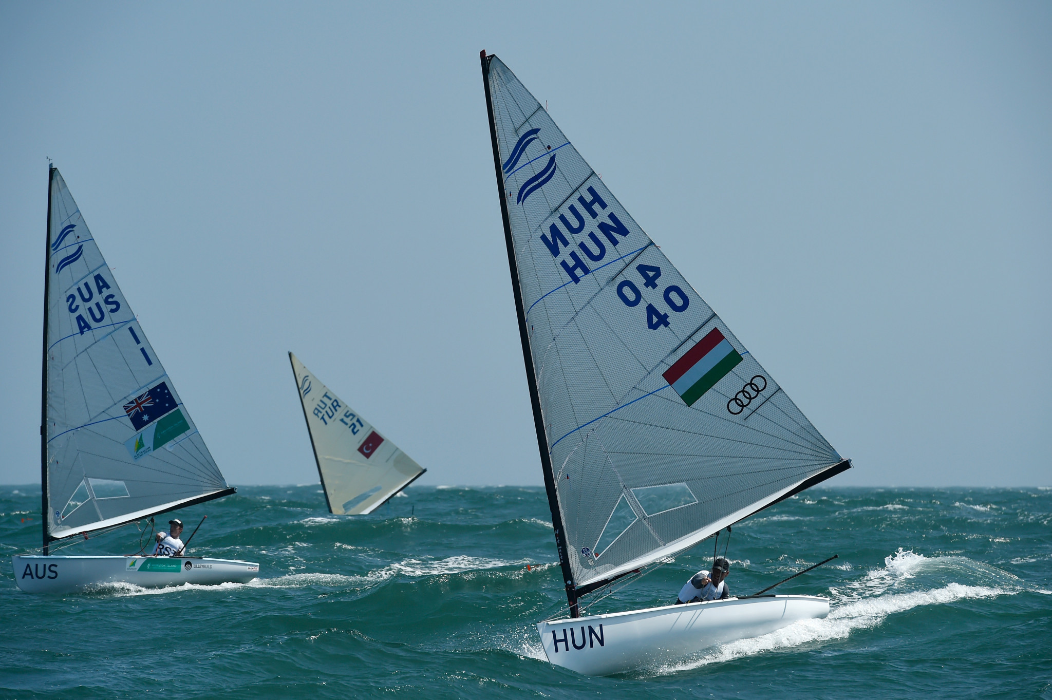 Test event winners return to Tokyo 2020 Olympic course for start of Sailing World Cup season