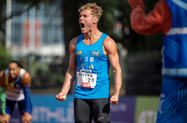 There was more celebration for France's world decathlon record holder and champion Kevin Mayer at Saturday's IAAF Diamond League meeting in Paris – but he has even higher and wider ambitions on behalf of his fellow multi-eventers ©Getty Images