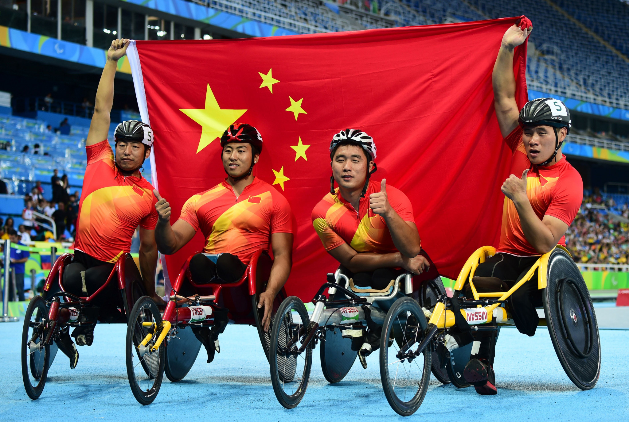 China topped the Paralympic medal table at Rio 2016 ©APC
