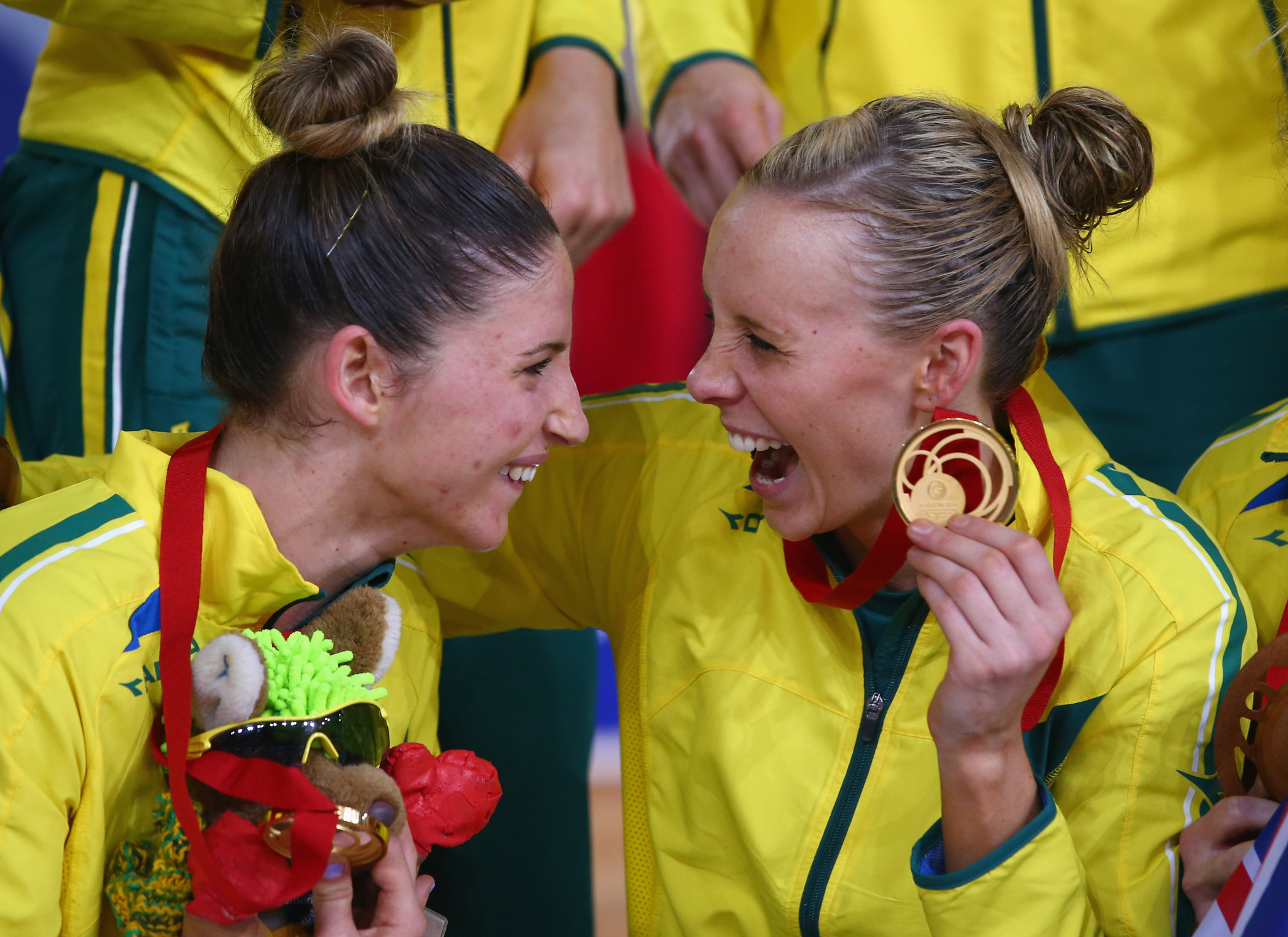 Australia have won the Commonwealth Games netball competition three times, including in 2014 ©Getty Images