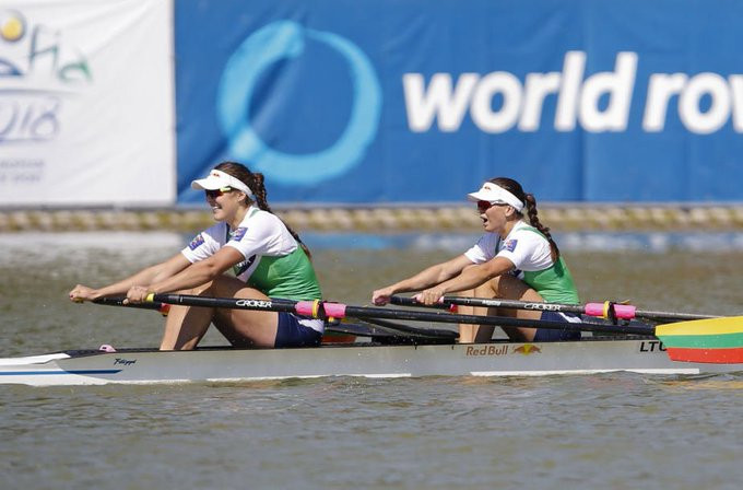 Lithuanian defending champions finish fourth in World Rowing Championships heats