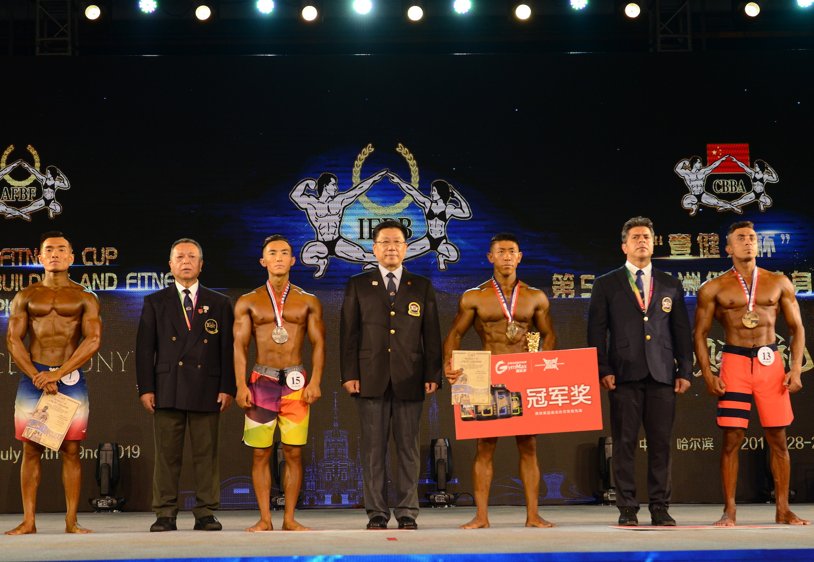 China retained their men's and women's team titles ©IFBB