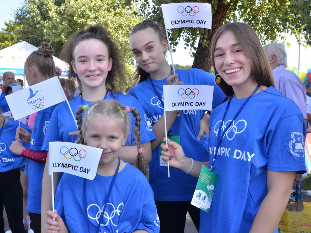Belarus NOC first vice-president full of praise as Olympic Day celebration held in Minsk