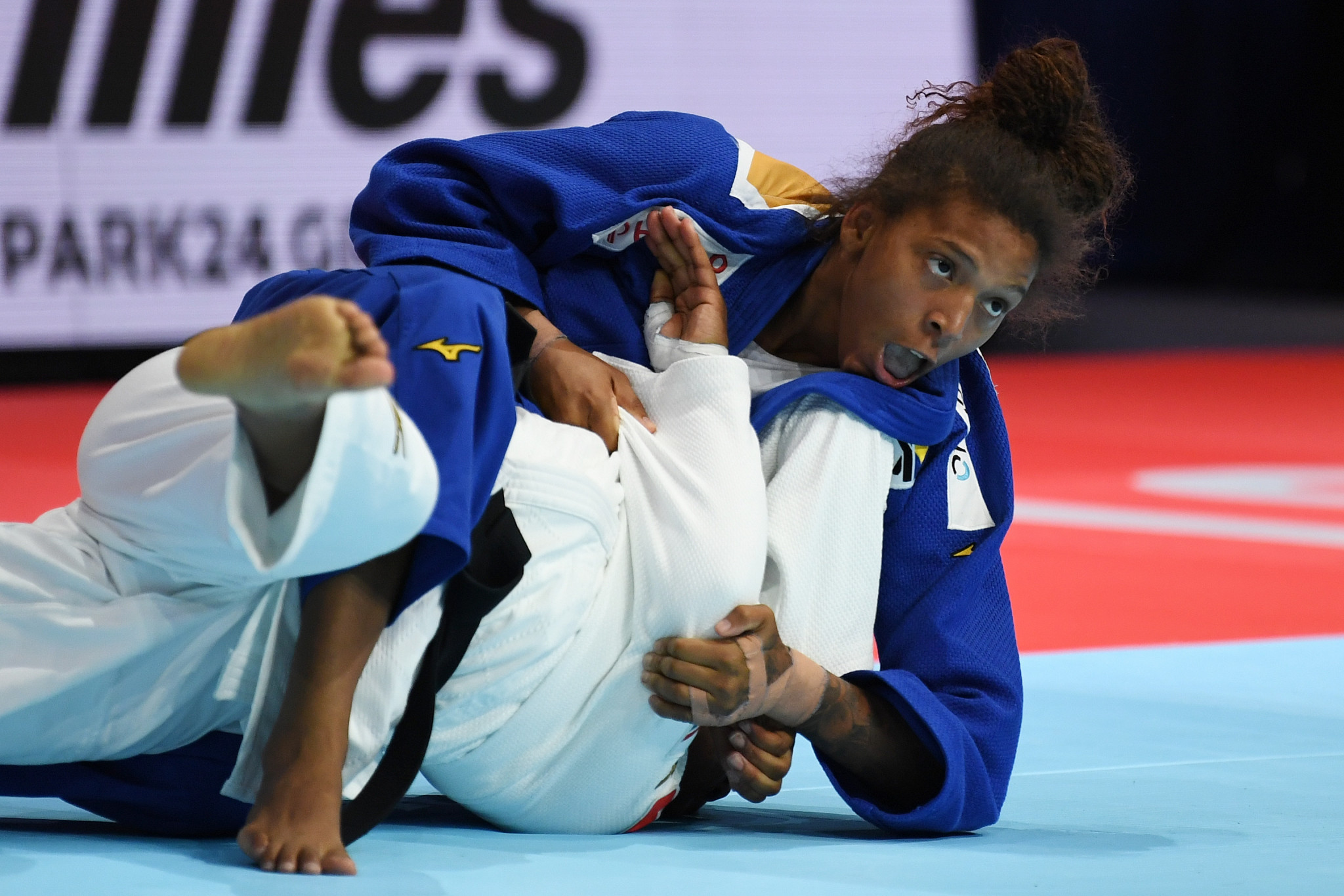 Rio 2016 Olympic champion Rafaela Silva took home the bronze medal in Tokyo ©Getty Images