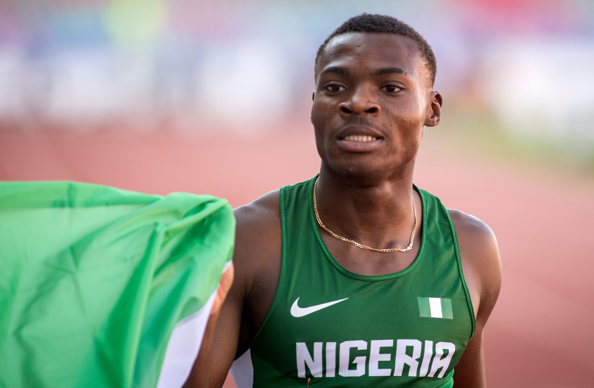 Ekevwo and Ta Lou claim 100m titles at African Games