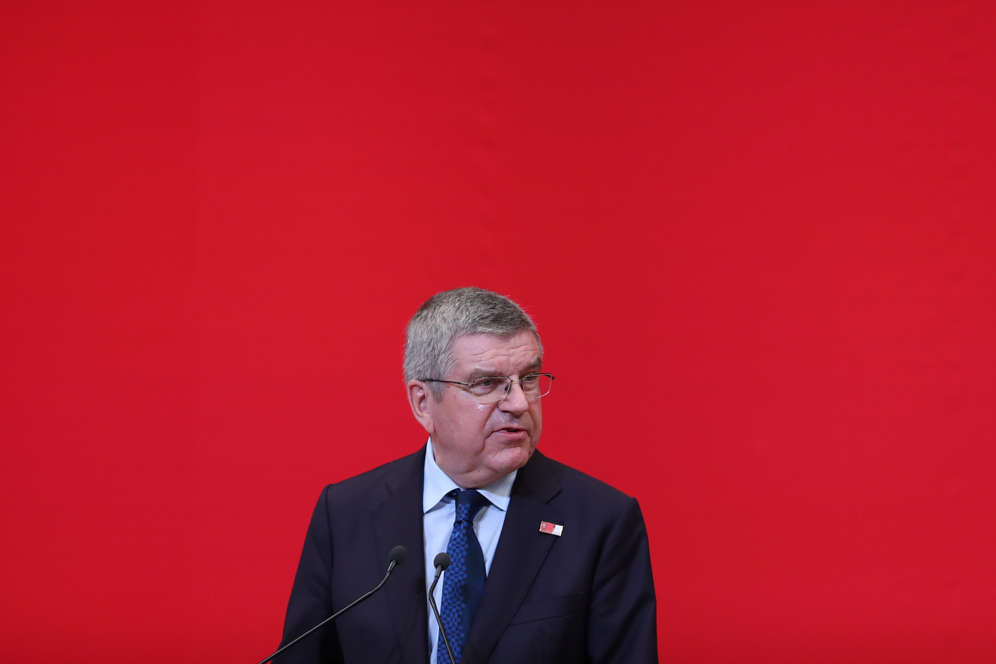 IOC President Thomas Bach said climate change had contributed to a reduction in bidding cities for the Olympic Games ©Getty Images