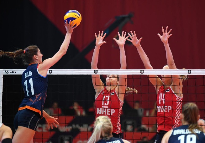 The Netherlands continue perfect start to Women's European Volleyball Championship
