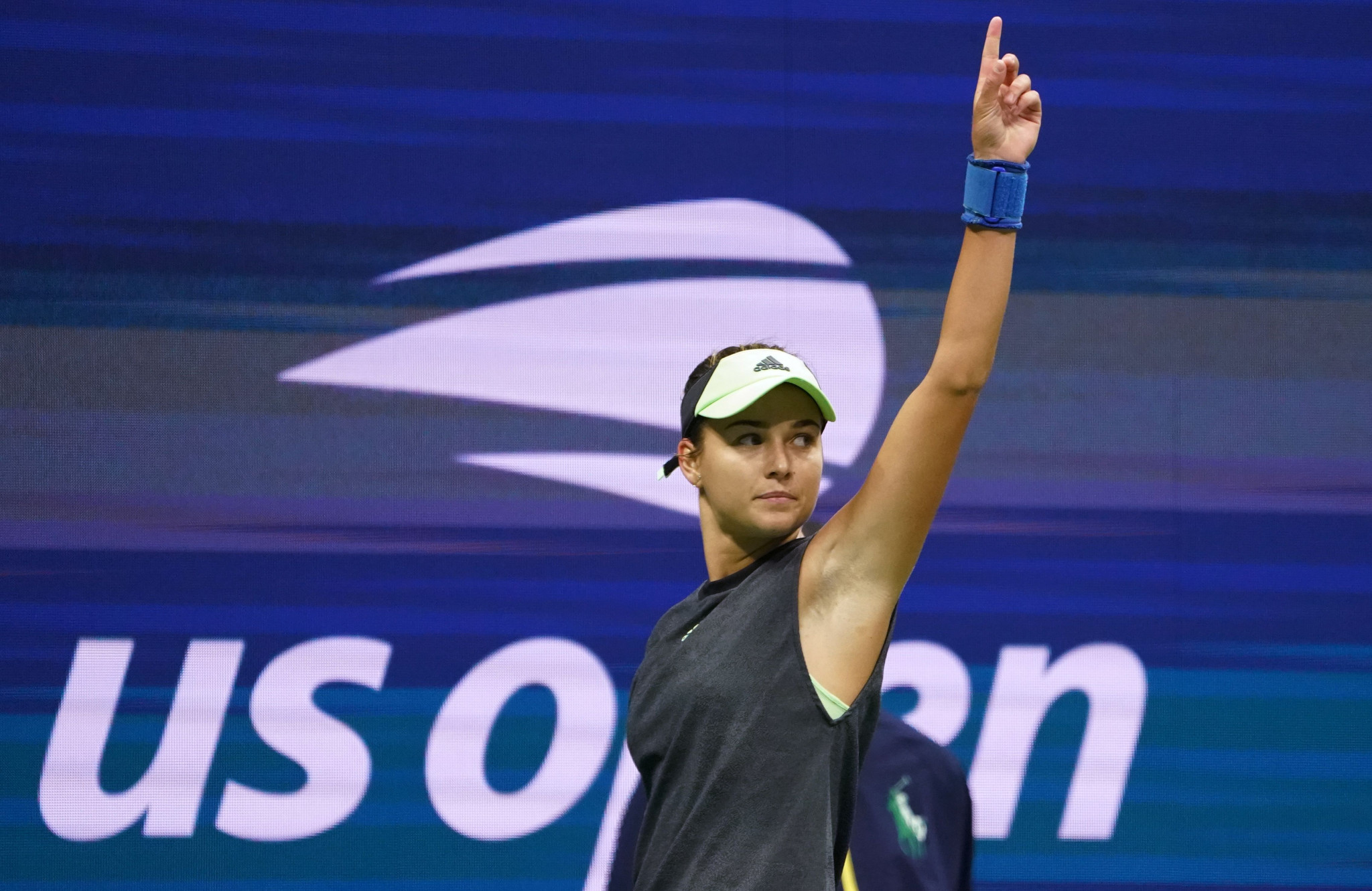 Russian qualifier Anna Kalinskaya knocked out Sloane Stephens ©Getty Images