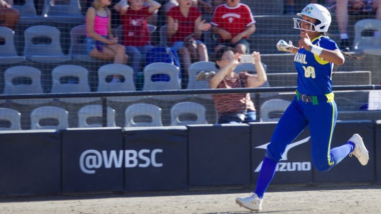 Brazil edged past Venezuela in a tight contest ©WBSC