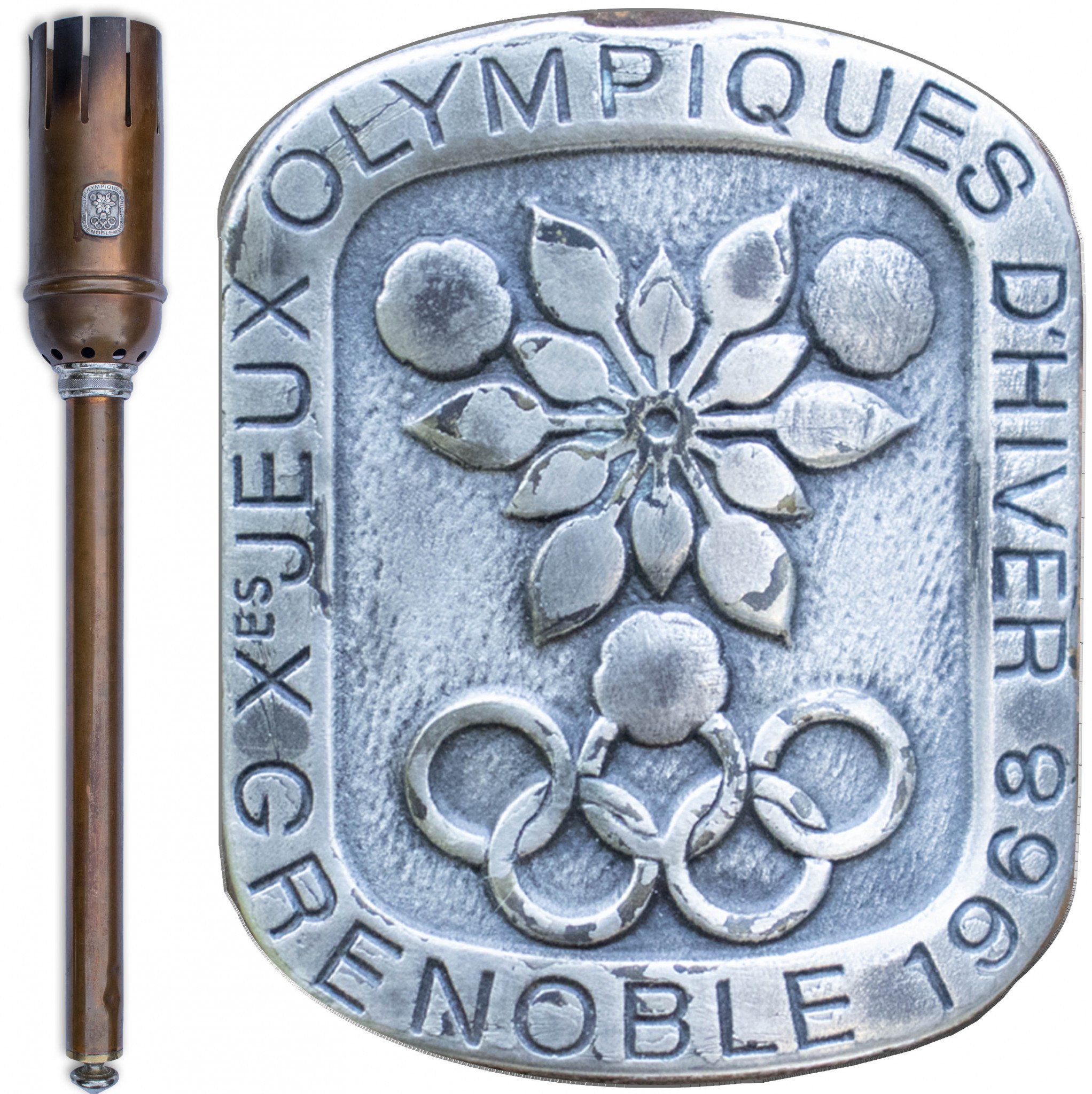 Rare Grenoble 1968 Olympic Torch to be sold at auction