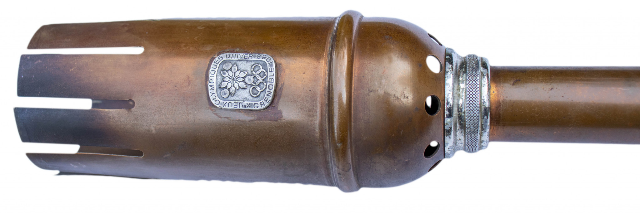 A Grenoble 1968 Olympic Torch sold in January raised more than $200,000 at auction ©Nate D. Sanders Auctions