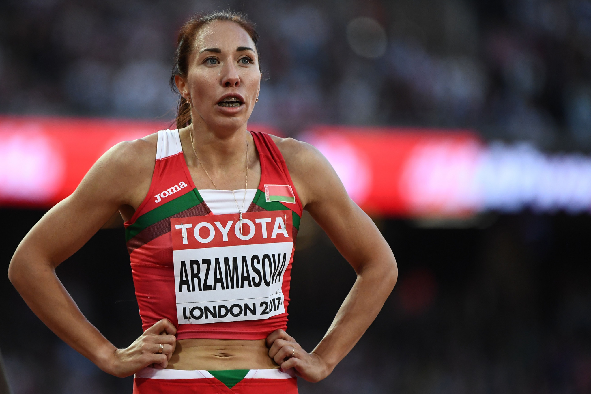 Former world 800m champion Arzamasova provisionally suspended by AIU