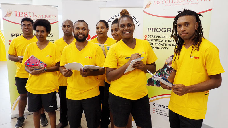 The IBSU provides scholarships for Papua New Guinea's elite athletes through the Athlete Excellence Programme, in partnership with the PNGOC ©A. Molen/PNGOC