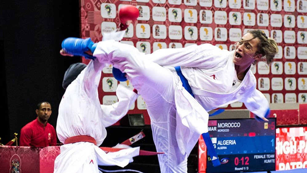 Morocco confirm status as major karate powerhouse at African Games