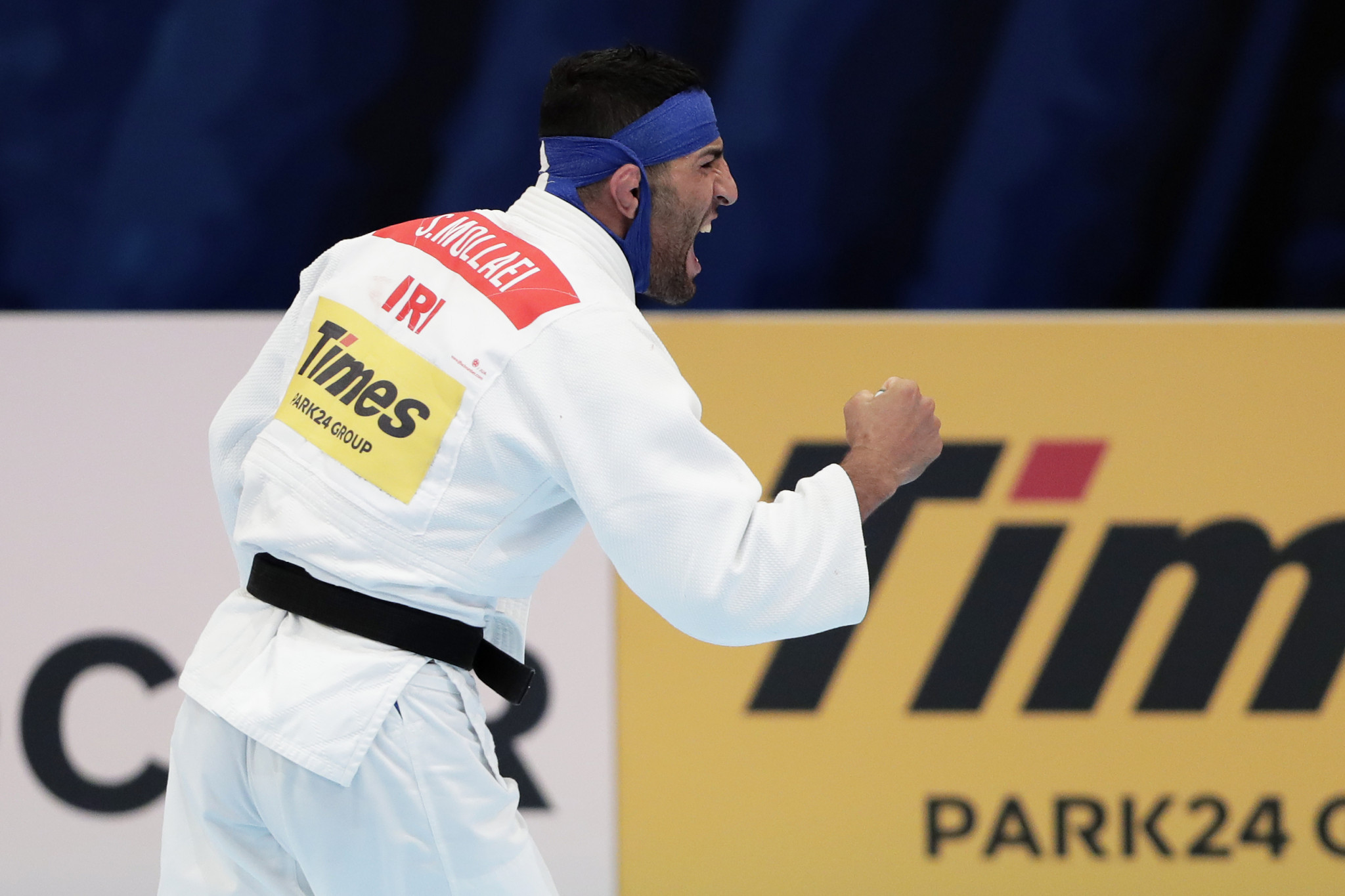 World number one Saeid Mollaei was below par in the evening session ©Getty Images