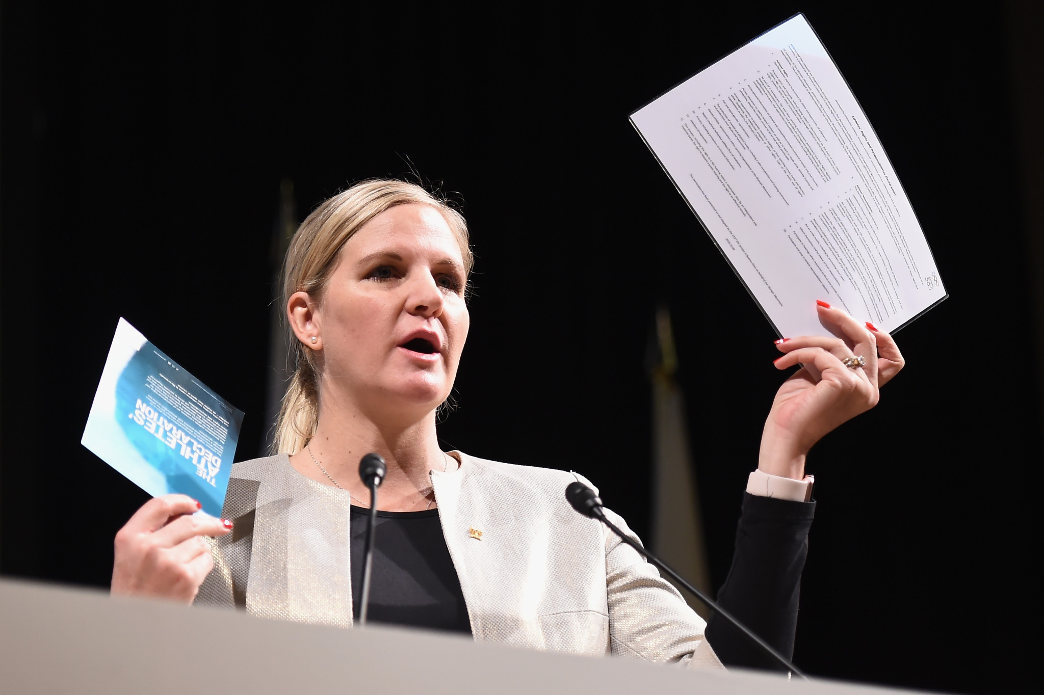Chairperson Kirsty Coventry is among four departures from the IOC Athletes' Commission at Tokyo 2020 ©Getty Images