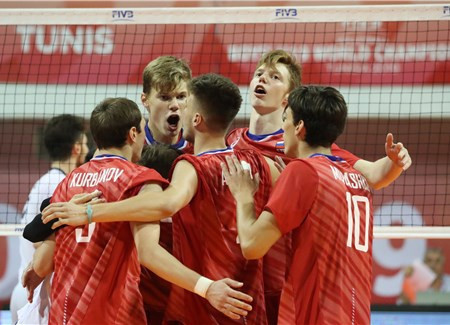 Revenge was sweet for Russia in the last eight ©FIVB