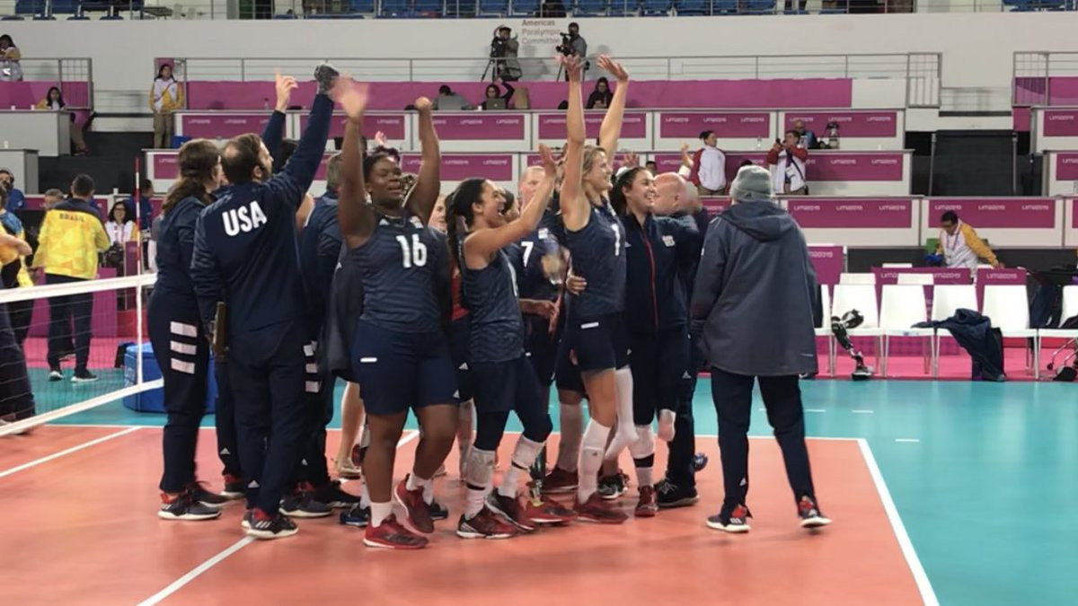 Brazil and US claim sitting volleyball gold medals at Lima 2019 Parapan American Games